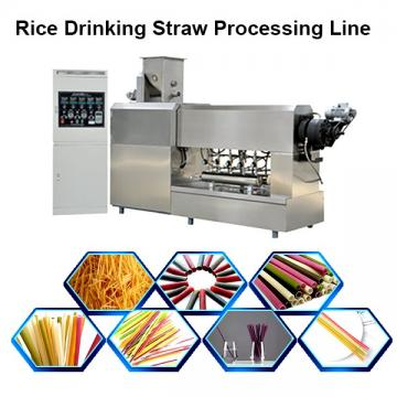 Biodegradable Rice Straws Extruder Machine Compostable Drinking Straw Machinery