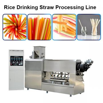 Automatic Biodegradable PLA straight flexible straw making machine extruder