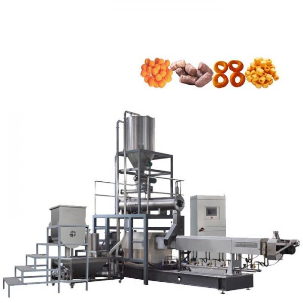 Saibainuo Automatic Dry Animal Pet Dog Cat Floating Sinking Fish Feed Pellet Production Snack Food Processing Making Extrusion Extruder Machine #1 image