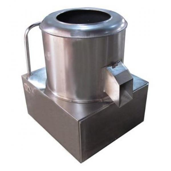 Industrial Potato Washer and Peeler with Four Types #1 image