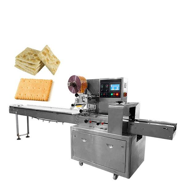 Automatic N95 Face Surgical Mask/Wafer/Biscuit/Cookie/Bread/Cake Instant Noodle Chocolate Food Full Servo Horizontal Flow Packing Packaging Wrapper Line Machine #1 image