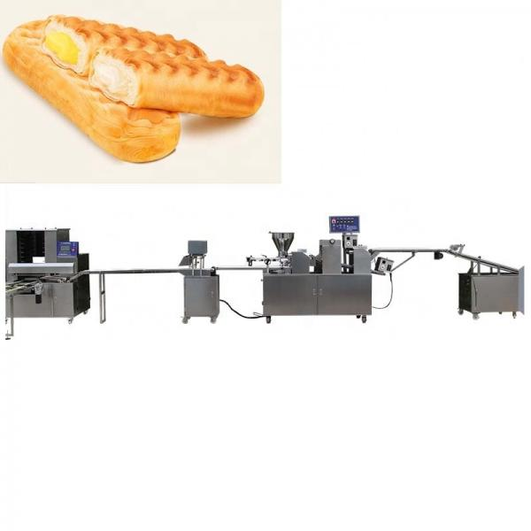 Commercial Breading Table Flouring Mixing spiral Podwer Wrap Machine #1 image