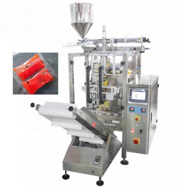 Automatic Salad Jam Peanut Butter Honey Filling Packaging Tomato Paste Packing Machine #1 image